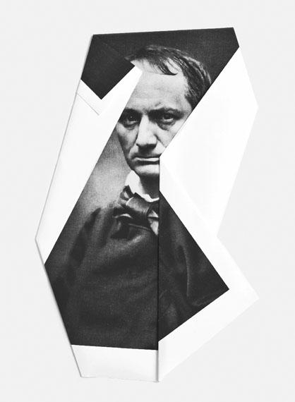 I rivolti, Charles Baudelaire, Bergamo, 2013Set of 46 pieces, hand foldedGiclée print60,5 x 45,5 cmUnique edition© Mario Cresci / SAGE Paris