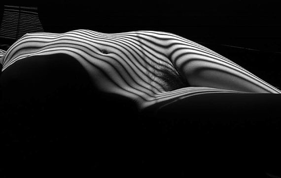 Lucien Clergue: Nu zébré, New York, 2012
