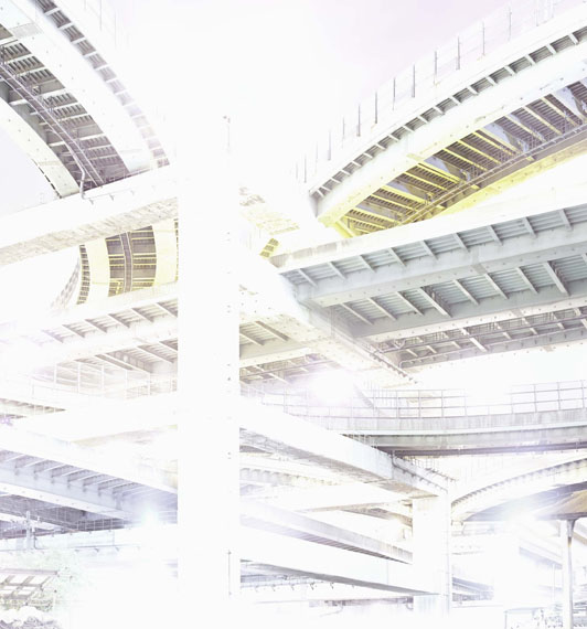 Andreas GefellerCS 13, Osaka, 2011Tintenstrahldruck mit Pigmenttinte auf Fine Art Papier, 160 x 149 cmCourtesy Thomas Rehbein Galerie, Köln © Andreas Gefeller
