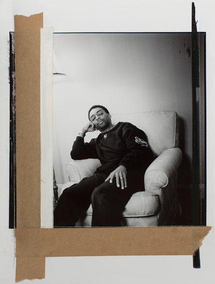 Oliver Mark, Spike Lee, Berlin, 2003, 30,3 x 40 cm, Silbergelatine, Selen, getont, Vintage© Oliver Mark
