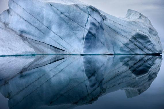Sebastian Copeland. Reflection of Iceberg, Greenland 2010