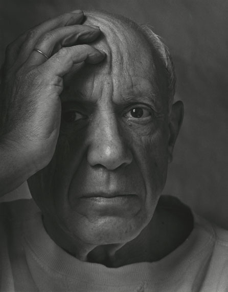 Arnold Newman, Pablo Picasso, Vallauris, France, 1954courtesy of Howard Greenberg Gallery, NY