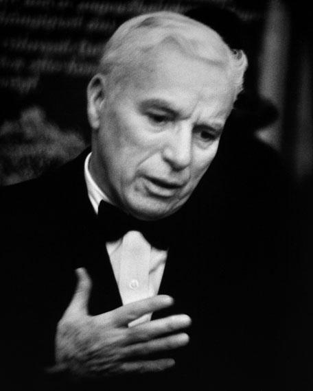 © René Groebli, Charles Chaplin, #606, 1952 / Courtesy Johanna Breede PHOTOKUNST