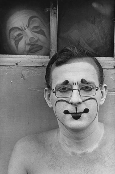 Untitled, from the series Circus Days, 1971, Vintage gelatin silver print