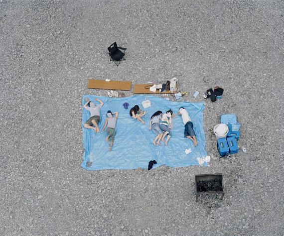 """Sabine Schründer: aus """"Ellipsen"""", Aufsicht, Inkjet-Print, 2010"""