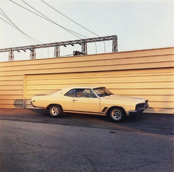 Lot 82William EGGLESTONUntitled (Yellow car) – 1976
