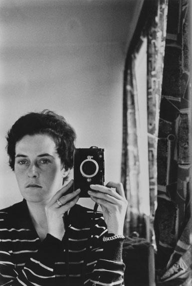 Inge Morath: Selbstportrait, Jerusalem, 1958