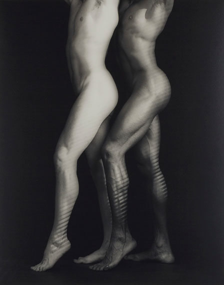 Lot 6ROBERT MAPPLETHORPE (1946–1989)Ken and Tyler, 1985Gelatin silver print, flush-mounted on boardImage: 19¼ x 14⅛ in.Sheet: 19¾ x 15¾ in.Estimate: €30,000–50,000© Robert Mapplethorpe Foundation. Used by permission.