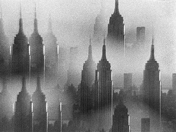 © René Groebli, New York Melancholie, Empire State Building (Nr. 681), 1978