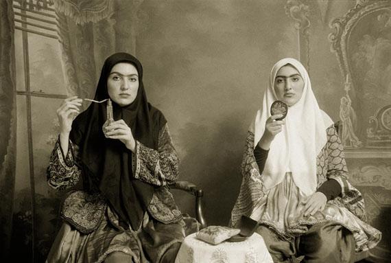 Qajar #7, 1998 © Shadi Ghadirian