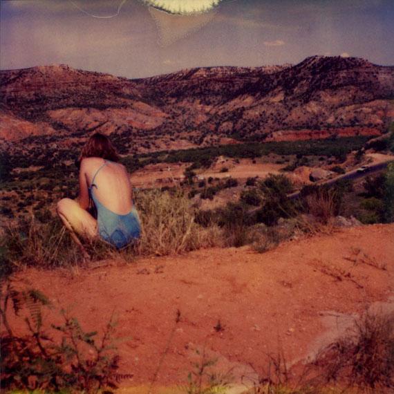 Simone Kappeler, Painted Desert, 7.7.1981From the series Trough AmericaIlfochrome print, framed100 x 100 cm, edition of 7© Simone Kappeler, courtesy Galerie Esther Woerdehoff
