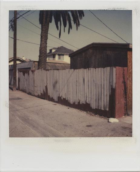 Dennis HopperLos Angeles, Back Alley1987Polaroid SX-70© Dennis Hopper, Courtesy The Hopper Art Trust