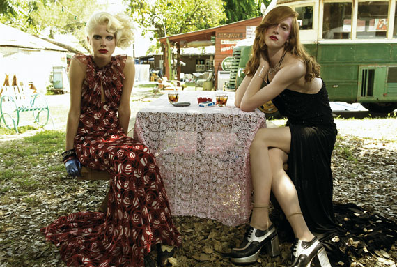 FASHION & POLITICS in Vogue Italia / STEVEN MEISEL