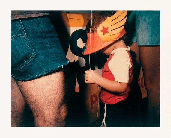 Barbara Crane, Private Views, 1981. Polaroid 4x5 Polacolor Type 58 © Barbara Crane, Courtesy Fotosammlung OstLicht
