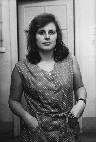 """Helga Paris: Aus """"Frauen im Bekleidungswerk VEB Treffmodelle Berlin"""" 1984"""