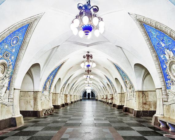 David Burdeny: Taganskaya Metro Station, Moscow, Russia, 2015