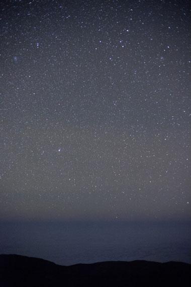 Paranal ESO, sky & ocean, 2012 Tirage jet d'encre dans le cadre de l'artiste, 41 x 27 cm © Wolfgang Tillmans