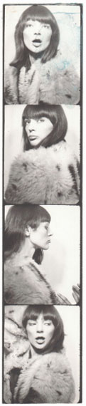 Andy Warhol, Ivy Nicholson's photobooth, 1964-67