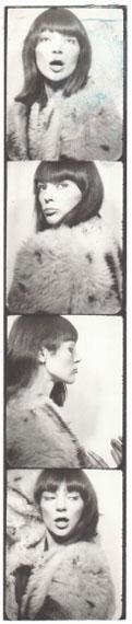Andy Warhol, Ivy Nicholson's photobooth, 1964-67Photobooth20 x 4 cmUnique piece