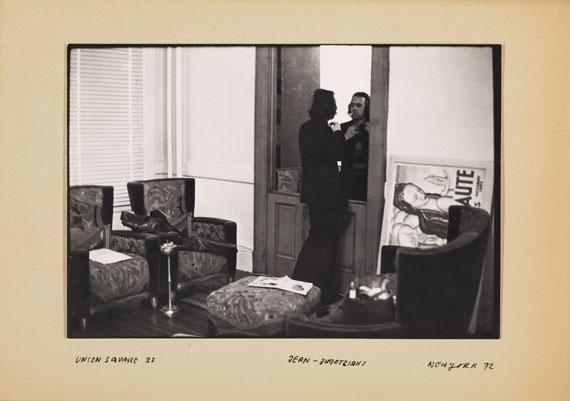 Balthasar Burkhard: untitled (Jean-Christophe Ammann in Andy Warhol's Factory), New York 1972 © Estate Balthasar Burkhard