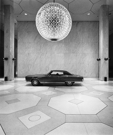 Timm Rautert: New York 1969 (General Motors)