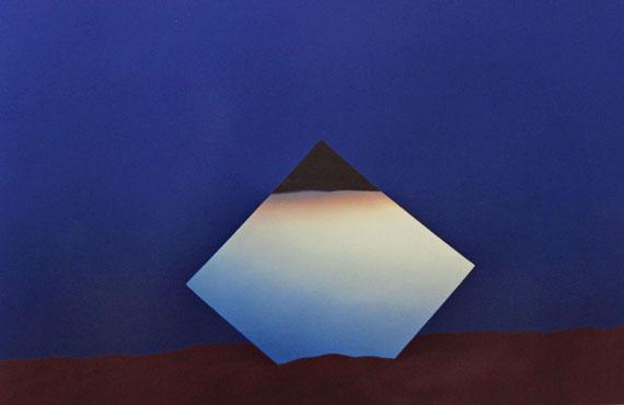 Heinz Mack Thomas HoepkerSculpture Safari1968-1974, Dye Transfer, 33,7 x 49,8