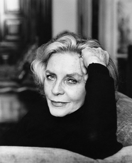 Marc Hom – Lauren Bacall at her home, New York 2004