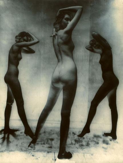 Erwin Blumenfeld, Untitled Nude, New York, 1952