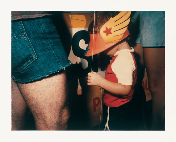 Barbara Crane: Private Views, 1981Polaroid Polacolor 4x5 Type 58, 10,2 x 12,7 cm © Barbara Crane