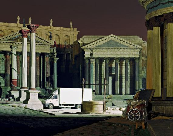 "Alfred Seiland: ""Rome""-Filmset, Cinecittà-Studios, Rom, Italien, 2006 © Alfred Seiland"
