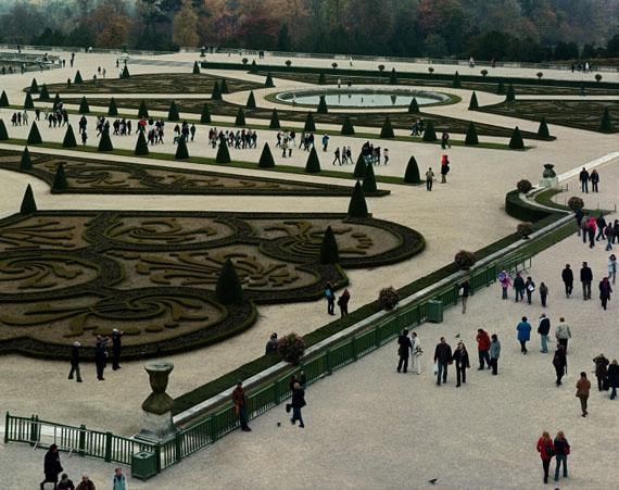 Vue of Parterre du Midi, #1, Versailles, 2007© Robert Polidori, courtesy Edwynn Houk Gallery