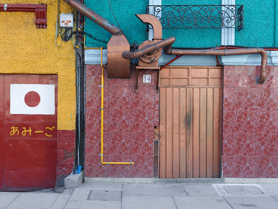 Bert Danckaert, Horizon #133 (Mexico City), 2016
