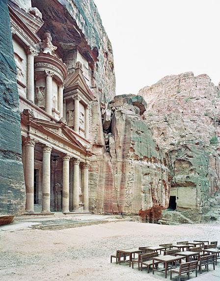 Alfred Seiland: Al-Khazneh, , Petra, Jordanien, 2009 © Alfred Seiland