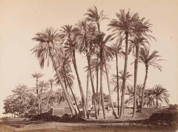 240. Félix Bonfils Egypte. Palestine. Syria, c. 1870.Important sef of 55 mammoth albumen prints.