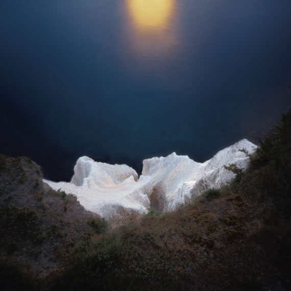 Lochfotografie aus dem Zyklus Poesien des Lichts, Botschaft der Sonne 2005