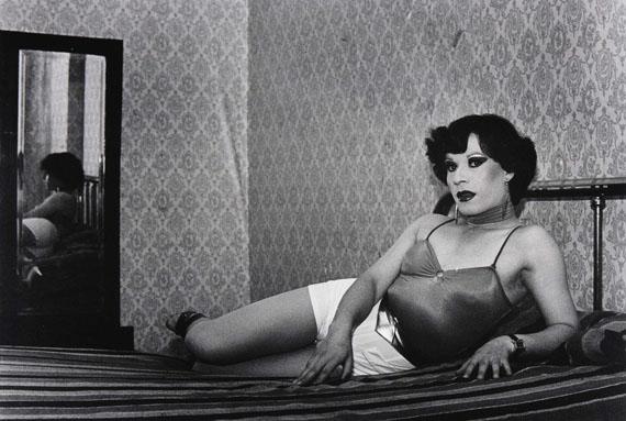 Paz Errázuriz: Adam's Apple, 1982-1987, B&W photograph, Courtesy of the artist