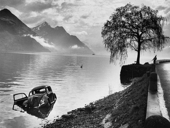 Arnold Odermatt:  Karambolagen, Buochs 1965
