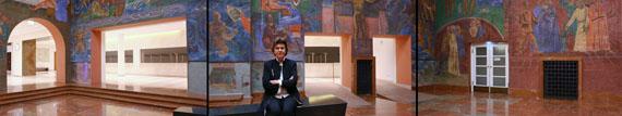 Gudrun Kemsa: Festspielhaus Salzburg, 2018, 3-Kanal-Videoinstallation