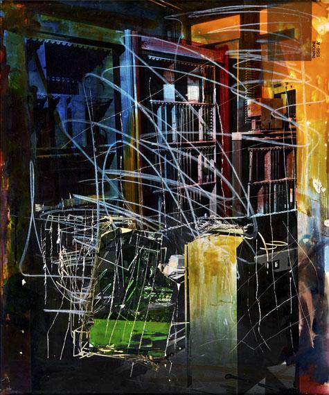 Adrian SauerLight Star, Dark Shadow, Third Point of View, 2017Aus der Serie: Light and Dark Starschromogener Abzug auf PE-Papier48,3 x 60,5 cm