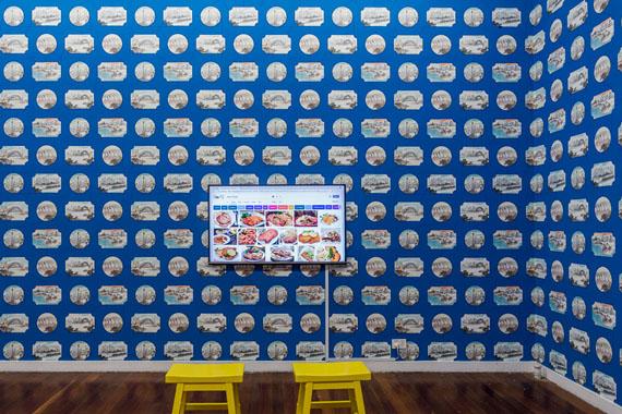 Jun Yang, Xīní / Xuělí Blue Room, 2018