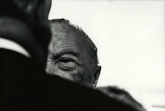 Konrad Adenauer an seinem 90. Geburtstag, Bonn 1966 © Archiv Robert Lebeck
