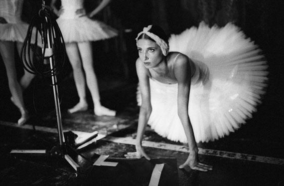 Sasha GusovSwan Lake. Backstage. London, 2016