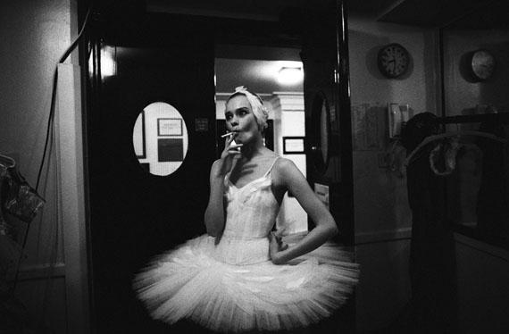 Sasha GusovSwan Lake. Backstage. London, 1993
