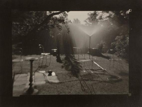 115. Josef Sudek (1896-1976)A walk in the magic garden, 1954-1959.Otto Rothmayer's garden [Jet d'eau].Gelatin silver print (c. 1960).