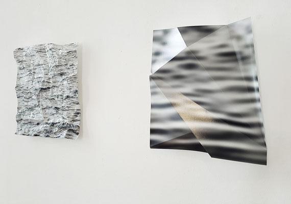 """Kurt Laurenz Theinert """"Wasserbewegung"""", Fotorelief"""
