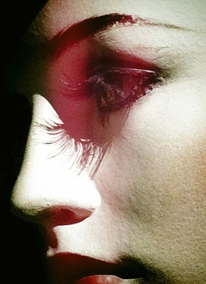 Birgit Klebertalking heads #10aus der Serie talking heads, 2013Pigmentdruck auf Hahnemühle Photo Rag Baryta44 x 32 cm