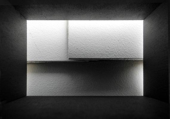 Kurt Buchwald: Überlappung, aus: Im Kasten, Zella-Mehlis 2012