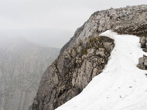 Peter Oehlmann: Gipfel, Ben Nevis, Schottland, 2006