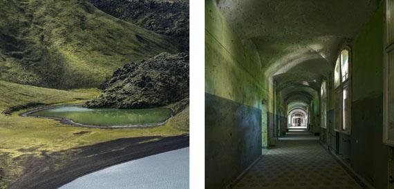 Gabriela Torres Ruiz#2 aus der Serie Silence (Diptychon), 2013Pigment Print / Alu-dibond30 x 60 cm / 2x (30 x 30 cm)