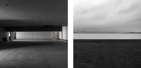 Gabriela Torres Ruiz#9 aus der Serie Silence (Diptychon), 2013Pigment Print / Alu-dibond30 x 60 cm / 2x (30 x 30 cm)